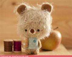 cute kawaii stuff - Hipster Bear