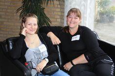 Skønne kvinder Denise og Malene #ungkræftårhus