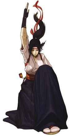 View an image titled 'Kasumi Todoh Art' in our SNK vs. Capcom: SVC Chaos art gallery featuring official character designs, concept art, and promo pictures. Game Character Design, Character Design Inspiration, Character Art, Art Of Fighting, Fighting Games, Video Game Characters, Female Characters, Fantasy Characters, Snk King Of Fighters