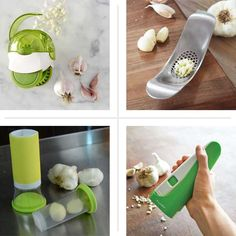 They slice! They dice! But wait, there's more: This year we've noticed a surplus of tools devoted to making garlic prep a fuss-free affair. If you love the flavor but can't stand to actually touch the stuff, take one of these gadgets out for a spin.