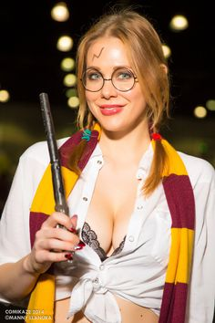 Harriet Potter Cosplay Maitland Ward by wbmstr on deviantART