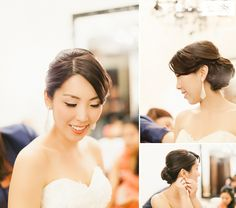 Eagle's Nest Wedding | Alexandra Chris ... in the Bridal Suite at www.eaglesnestgolf.com