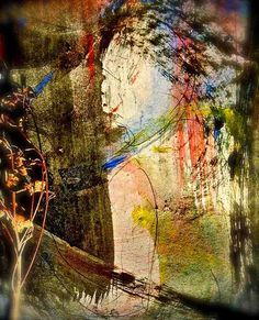 """watercolors on arches paper, lge. format: """"duende""""* by THE ART OF STEFAN KRIKL, via Flickr"""