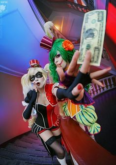 Nerd Da Hora - Victorian Harley Quinn e Lady Joker