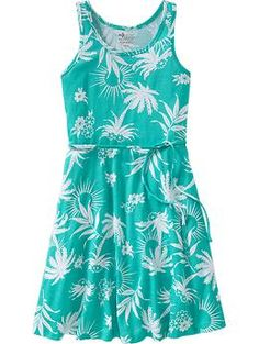 Girls A-Line Jersey Dresses | Old Navy