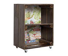 Mesa auxiliar con ruedas de madera Florida Decor, Furniture, Shelves, Entertainment Unit, Bookcase, Home Decor