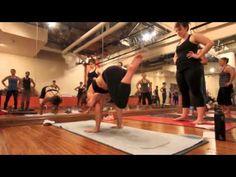 Yoga Tips with Christina sell - eka pada galavasana or flying pigeon pose