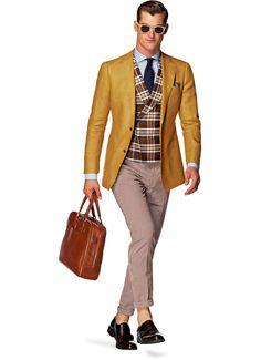 Suitsupply Jackets: We couldn't be more proud of our tailored jackets. Suit Supply, Blazers, Yellow Suit, Designer Suits For Men, Men Formal, Formal Wear, Big And Tall Outfits, Elegant Man, Tailored Jacket