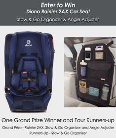 Discontinued by Manufacturer Older Version Diono Rainier Seat Shadow Black