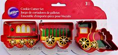 Wilton 23081647 3 Piece Train Cookie Cutter Set >>> Details can be found by clicking on the image.