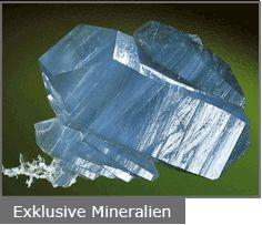Exklusive Mineralien