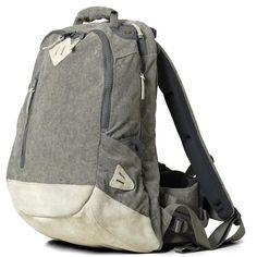 Visvim Lamina Corduroy 20L Back Pack (Grey)