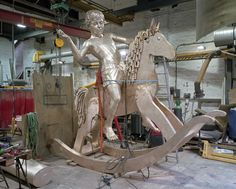 The making of Elmgreen & Dragset's sculpture