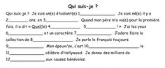 http://enfrancaisclasse.com/2010/06/first-day-of-class-mad-libs-activity/