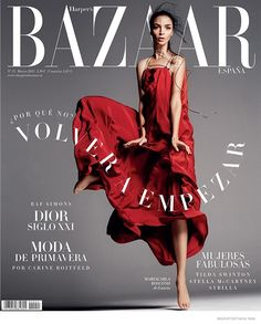 @HarpersBazaar Spain on Behance