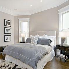 Beige  Gray Bedroom