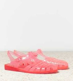 AEO BC In No Time Jelly Sandal -I wouldn't buy these but theyre cool
