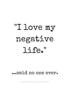 """I love my negative life,"" said no one ever. Living a positive life involves being able to control your thoughts and how you react to outside forces. It's time to learn how to think positively! Here are five benefits of being a positive thinker! #positive #positivity #positivethoughts #positivethinking #funniestquotes #bestquoteever #negativity #quotes"