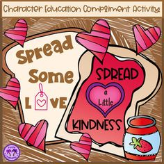 Spread a bit of love and lots kindness in your classroom with these fun compliment templates!This is a great character education activity and a perfectly themed Valentine's Day activity. Colored and black and white templates to color are included with one design along with samples and direction po... Character Education, Character Development, Elementary Teacher, Elementary Education, Teaching Resources, School Resources, Teaching Ideas, Kindness Activities, Fourth Grade