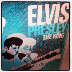 The King na Rocker! #rocker #userocker #modarocker #posterrocker #poster #elvis #elvispresley #elvistheking
