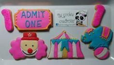 Pedido entregado ayer! #mycookiecreations #circuscookies #circus #circusbirthday #cookies