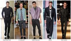 Top men's denim trends, S/S 2015, young mens RUNWAY INFLUENCES / REBEL WITHOUT A CAUSE