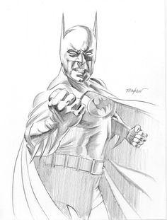Batman Study by mikemayhew on deviantART