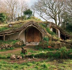The £ 3,000 Hobbit house: A family home dug from a hillside