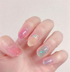 In seek out some nail styles and ideas for your nails? Here is our listing of must-try coffin acrylic nails for modern women. Cute Acrylic Nails, Pastel Nails, Cute Nail Art, Cute Nails, Pretty Nails, Glitter Nails, Gorgeous Nails, Hair And Nails, My Nails