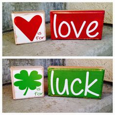 SAWDUST SANITY: Valentine and St. Patrick's Crafts 2015