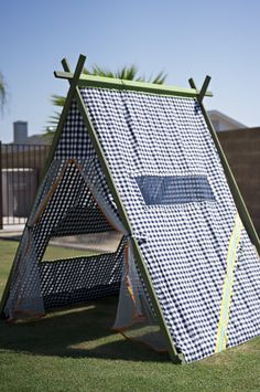 25 play tents for kids - When my kids were little, I had a tent that folded flat. Spent many, many hours playing in that tent. Every kids should have a tent.