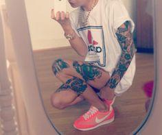 knee tattoo tumblr - Szukaj w Google