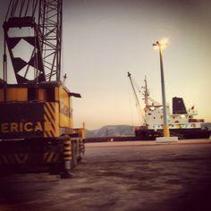 Eleusina port, Greece