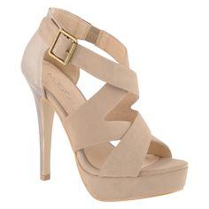 27149fcb9ded8 Aldo Kotur Sandals Nude Strappy Heels