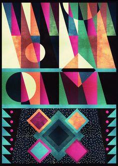 Ilustrações by Talita Carvalho, via Behance