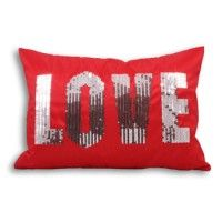 NOW 50% OFF --> All you need is love! Colourful and energetic, the Love #cushion makes a real statement