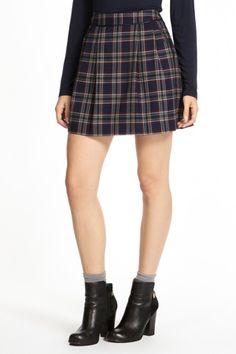 Small check skirt £25 sale