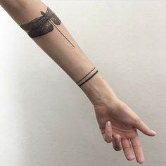 Wrist Band Tattoo, P Tattoo, Tattoo Pain, Tattoo Bracelet, Dream Tattoos, Line Tattoos, Body Art Tattoos, Sleeve Tattoos, Tattoos For Guys