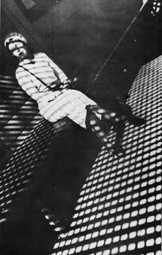 """© Alexander Rodchenko, 1934, Girl with Leica --- """"Shooting with a Leica is like a long tender kiss, like firing an automatic pistol, like an hour on the analyist's couch."""" (Henri Cartier-Bresson)"""
