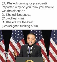 DJ Khaled Running For President http://ibeebz.com