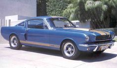 """66 GT 350 H Shelby Mustang...""""i wouls love to have a classic Hurst Shelby"""""""