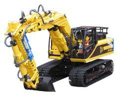 Lego Truck, Crane, Loader, Excavator, Digger - Lego Construction Site