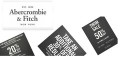 Abercrombie  Fitch Coupons - Latest Kids Coupons for September 2012 #Abercrombie #deals #coupons