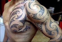 Baby Tattoos, Body Art Tattoos, New Tattoos, Sleeve Tattoos, Tattoos For Guys, Cool Tattoos, Tribal Shoulder Tattoos, Tribal Arm Tattoos, Maori Tattoo Designs
