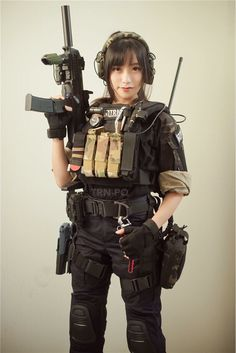 Girl with a Weapon mature swimsuit models Military girl . Women in the military . Women with guns . Girls with weapons