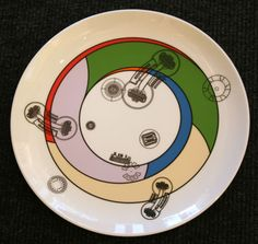 Eduardo Paolozzi 'Kalkulium Suite' Limited Edition Plate by Wedgwood.