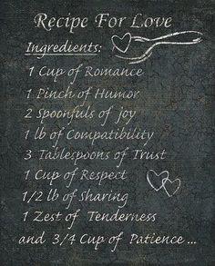 love recipe