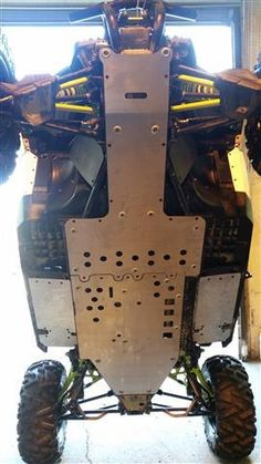 Buy Can-Am Maverick XDS Full Belly Skid Plate Set by EMP Extreme Metal Products Online, Fast Shipping! Side By Side Accessories, Utv Accessories, Lake Toys, Extreme Metal, Can Am, Plate Sets, Plates, Canning, Products