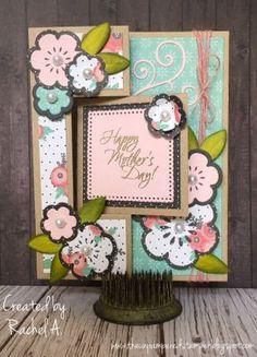 Sizzix Square #2 Flip-its Card Die Set, Sizzix Triplits Flowers #2, Sizzix Rectangle/Gift Card Flip-its Die Set