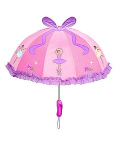 Take a look at this Pink Ballet Umbrella by Kidorable on #zulily today!